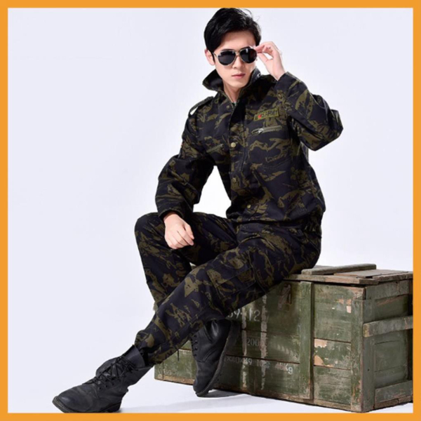 Quần Áo Lính Mỹ US ARMY Giá Rẻ - Quần Túi Hộp Nam Kiểu Lính - Quần Áo Rằn Ri Lính Mỹ