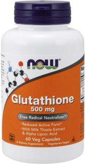 Viên Uống Trắng Da, Làm Đẹp Da NOW Glutathione 500mg 60 Viên thumbnail