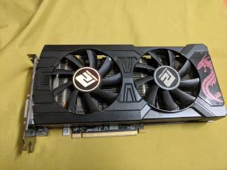 Card màn hình PowerColor Red Dragon RX 570 4GB GDDR5 mạnh ngang gtx 1060 thumbnail