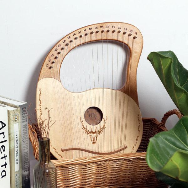[HCM]Đàn lyre 19 dây Lyre Harp đàn hạc tặng túi cây chỉnh dây phím gãy