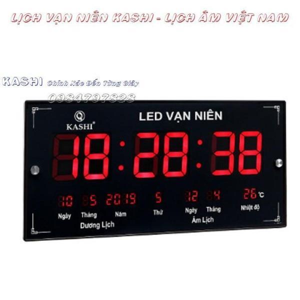 Đồng hồ LED vạn niên cao cấp Kashi Việt Nam bán chạy