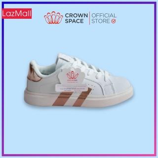 Giày Sneaker Bé Trai Bé Gái Cổ Thấp CrownUK Giày Thể Thao Trẻ Em Từ 2 đến 14 Tuổi size 28 đến 36 Nhẹ Êm Chân CRUK215 thumbnail
