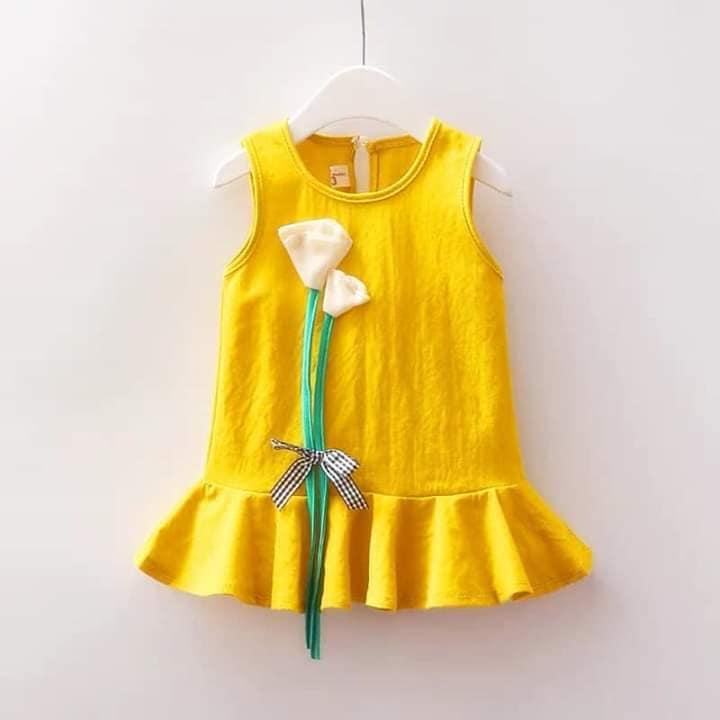 Giá bán combo 3 váy  bé gái (size 12-14kg)