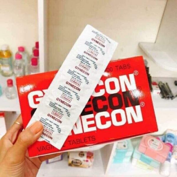 Viên Đặt Phụ Khoa Gynecon Thái lan ( 1 vỉ 5 viên )
