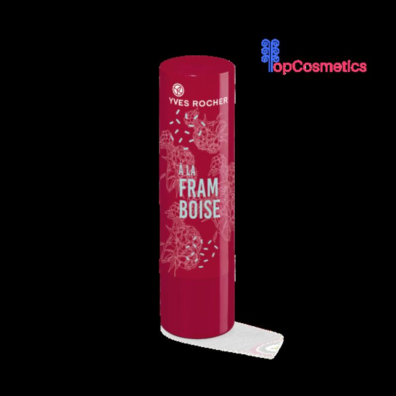 Son Dưỡng Môi Yves Rocher Mâm Xôi Raspberry Tinted Lip Balm 4,8g Topcosmetics giá rẻ