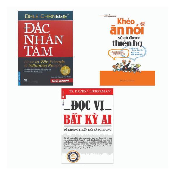 Combo 3 Cuốn: Đọc Vị Bất Kỳ Ai + Khéo Ăn Nói Sẽ Có Được Thiên Hạ + Đắc Nhân Tâm
