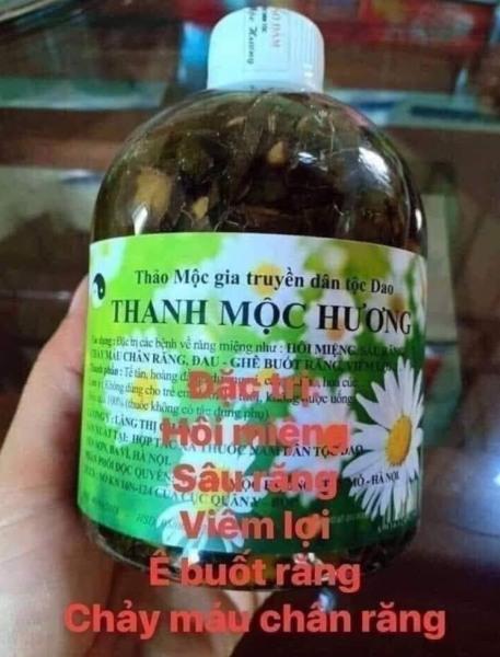 sâu răng Thanh Mộc Hương