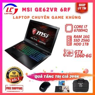 Laptop Gaming Giá Rẻ, Laptop Chơi Game Đồ Họa MSI GE62VR 6RF, i7-6700HQ, VGA Rời Nvidia GTX 1060, Màn 15.6 FullHD IPS, LaptopLC298 thumbnail