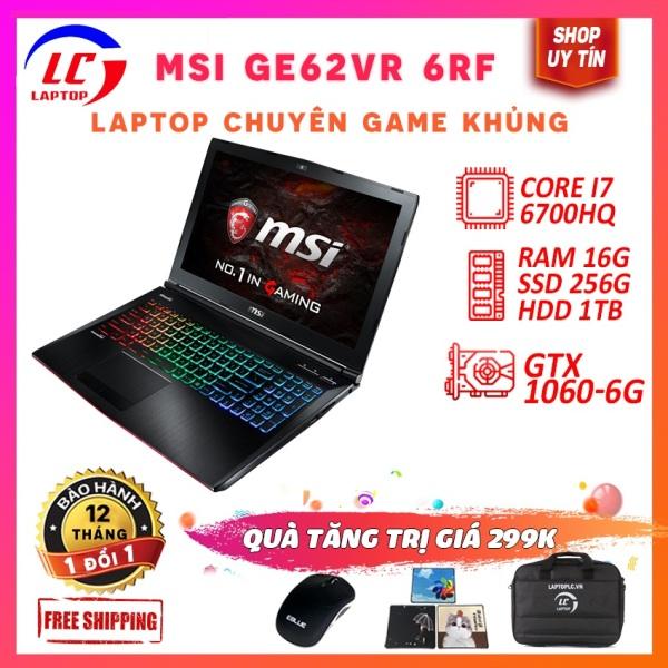 Bảng giá Laptop chuyên game - msi ge62vr 6rf core i7-6700hq,vga rời nvidia gtx 1060- 6g, màn 15.6in full hd ips Phong Vũ