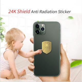 [SIÊU HOT-Video test thực tế]-Miếng dán chống bức xạ LC-24k Gold giảm tác động có hại của các thiết bị điện tử và trung hòa ion dương thanh lọc không khí. Mỏng hơn miếng dán chống bức xạ hitoki, anti radiation sticker-GREEN STORE 6