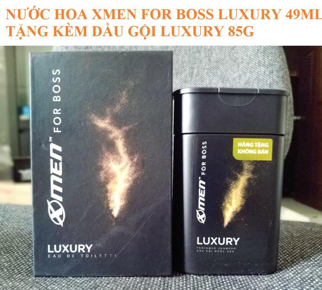Nước hoa xmen for Boss Luxury 2018 tặng kèm 85g dầu gội Xmen Luxury