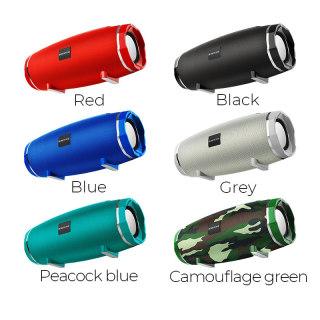 Loa Không Dây BOROFONE BR3, Bluetooth 5.0, Pin 1200mah, Nghe Nhạc, Hỗ Trợ Thẻ Nhớ USB - Loa Bluetooth Không Dây BR3 Chất Âm Chất Lượng Cao - Loa Không Dây Chống Nước Thích Hợp Mọi Điều Kiện thumbnail
