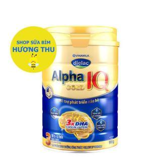 Sữa Bột Vinamilk Dielac Alpha Gold IQ Số 3 lon 900g (dành cho bé từ 1 - 2 tuổi) thumbnail