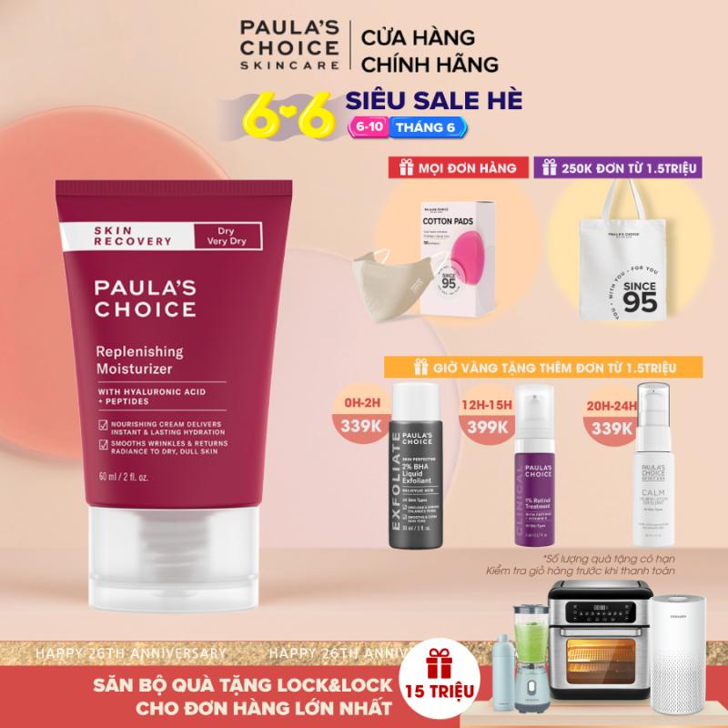 Kem dưỡng ẩm phục hồi nhanh chóng cho da khô Paula's Choice Skin Recovery Replenishing Moisturer 60 ml 1860 giá rẻ