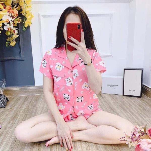 [ Thế Trình Store ] (xả kho) Bộ Đồ Pijama ,Đồ Ngủ Ngắn Kate Đẹp Mẫu Mã Đa Dạng ,Size 35kg -60kg.y như hình