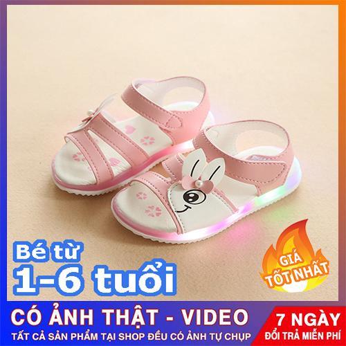 Giá bán Dép sandal cho bé gái  - Dép quai hậu cho bé gái - Dép có quai cho bé gái - giày phát sáng cho bé - dép trẻ em - giày dép trẻ em đẹp - giá rẻ