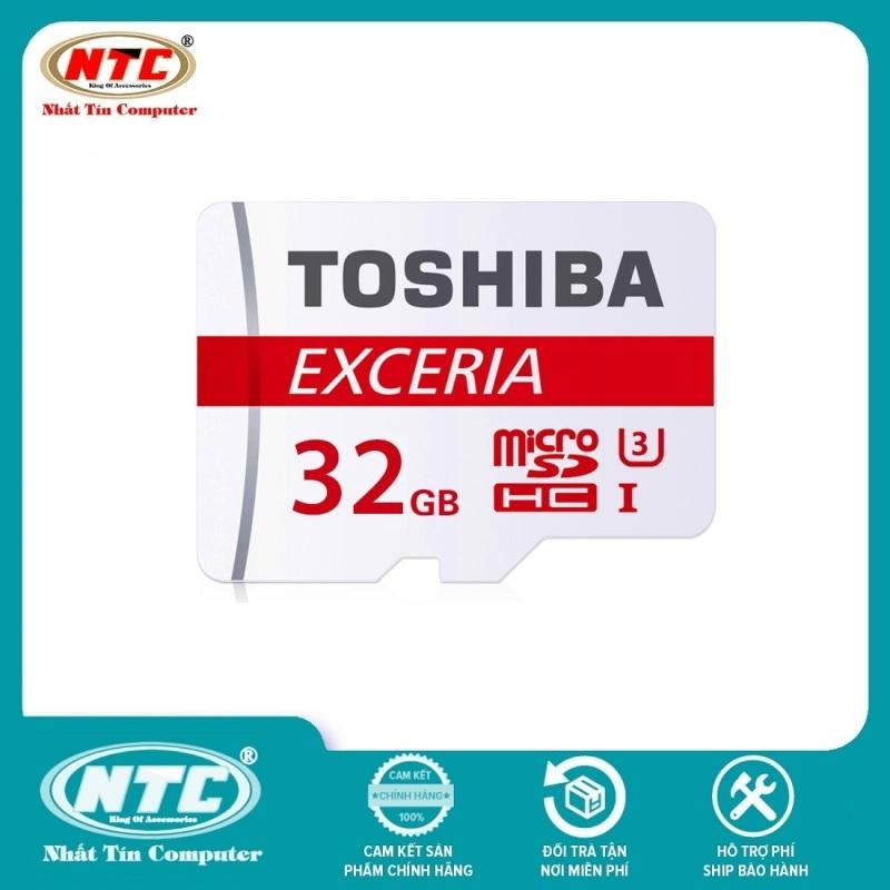 [Nhập EXCLUSIVE giảm 10% đơn 0Đ] Thẻ nhớ MicroSDXC Toshiba Exceria M302 32GB U3 4K 90MB/s (Đỏ) - Không Box