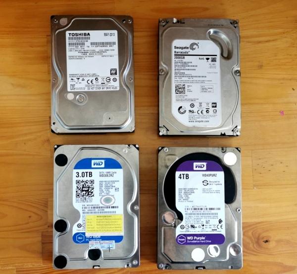 Bảng giá Ổ cứng máy bàn 1TB 2TB 3TB 4TB HDD PC 4T 3T 2T 1T 500G 750G HDD PC 3.5 inch ổ cứng máy bàn Phong Vũ
