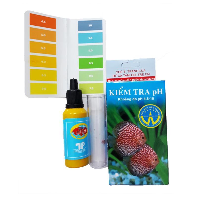 Dung Dịch Kiểm Tra pH Hồ Cá - Bộ Test pH Nước Bể Cá Có Ống Nghiệm