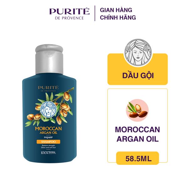 [Quà tặng] [Travel Size] Dầu Gội Purité Morrocan Argan Oil 58.5 ml