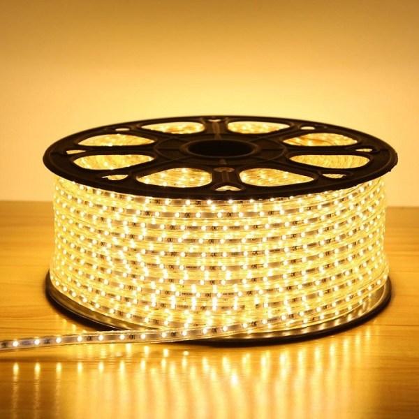 COMBO 10 MÉT ĐÈN LED DÂY 2 ĐƯỜNG BÓNG 2835 220V - TẶNG 1 NGUỒN LED TÔT