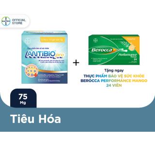 Thực Phẩm Bảo Vệ Sức Khoẻ Bổ Sung Lợi Khuẩn Antibio pro 100 Gói (10 Túi x 10 Gói Bột 1G) - Tặng 1 Tuýp Berocca 24 Viên thumbnail