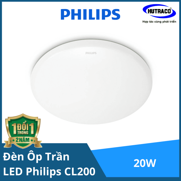 Đèn led ốp trần CL254 EC RD 20W HV 02 LED CEILING Philips