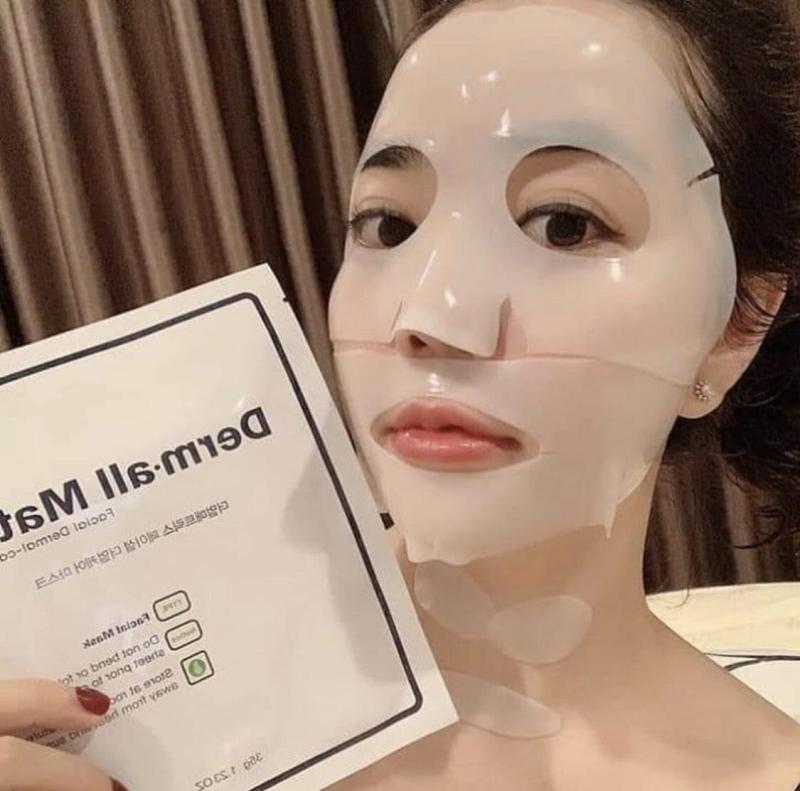Mặt nạ Derm-All Matrix - Đẹp như tiêm Filler (Hộp gồm 4  miếng mặt nạ) nhập khẩu