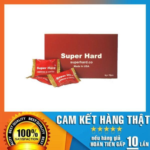 Hộp 3 viên kẹo sâm Super Hard Ginseng & Coffee Candy