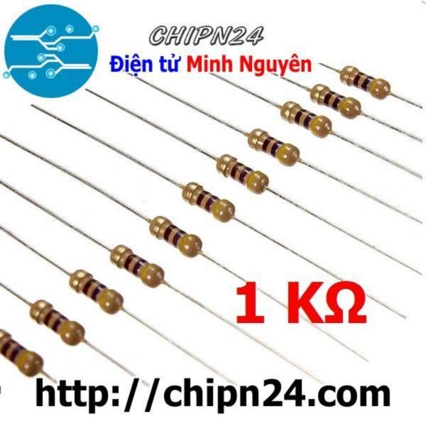 Bảng giá [Nhập ELJAN11 giảm 10%, tối đa 200k, đơn từ 99k][100 con] điện trở 1K 1/4W