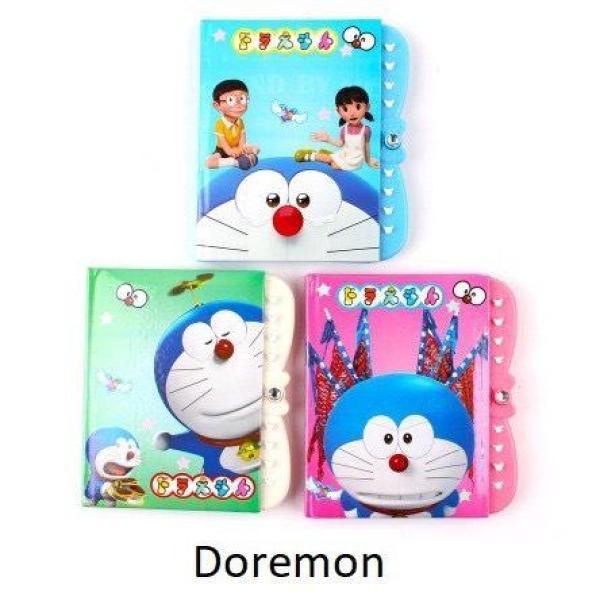 Mua Sổ Nhật ký có mật khẩu cho bé hình Doremon