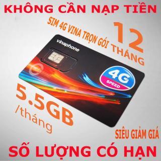 SIM VINA D500 DÙNG DATA 1 NĂM KHÔNG NẠP TIỀN 5.5GB 4G TỐC ĐỘ CAO MỖI THÁNG- D500 thumbnail