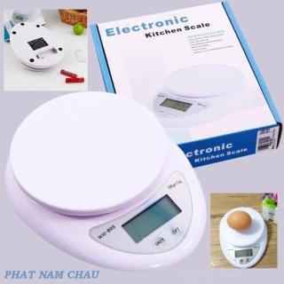 Cân điện tử thực phẩm dùng trong nhà bếp cân electronic kitchen scale 5kg - cân tiểu ly thực phẩm điện tử 5kg cho nhà bếp - cân tiểu ly nhà bếp - cân nhà bếp cao cấp - cân thực phẩm thumbnail