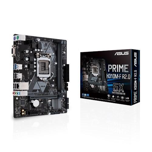 BO MẠCH CHỦ MÁY TÍNH ASUS PRIME H310M-F R2.0//LGA1151/H310/USB3.1/D-SUB/MATX