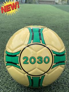 Quả bóng đá sân Futsal và cỏ nhân tạo 2030 - da PU dán số 4 - tặng kim bơm và lưới đựng bóng thumbnail