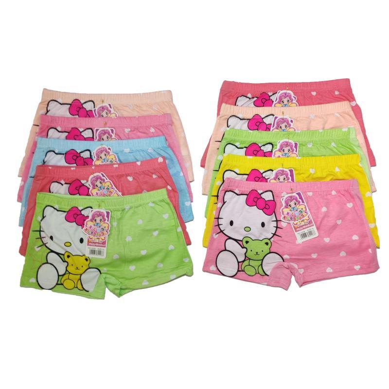 Nơi bán Sét 10 quần đùi in hình dễ thương cực đẹp cho bé gái - màu ngẫu nhiên
