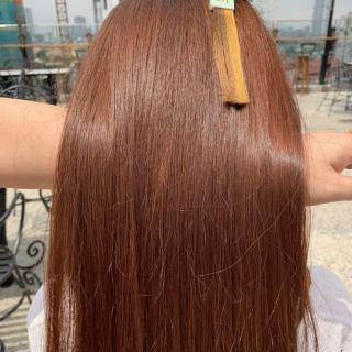 Thuốc nhuộm tóc màu Nâu Trà Sữa (kèm oxi và găng tay) thumbnail