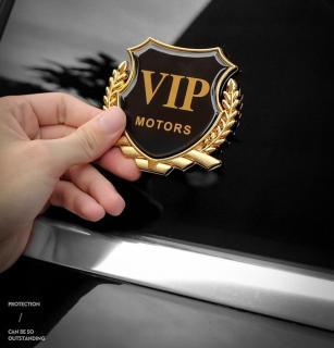 Combo 2 Logo huy hiệu VIP của hãng Honda và logo đơn dành cho ô tô, xe máy kích thước 5.5cm x 5.5cm 7