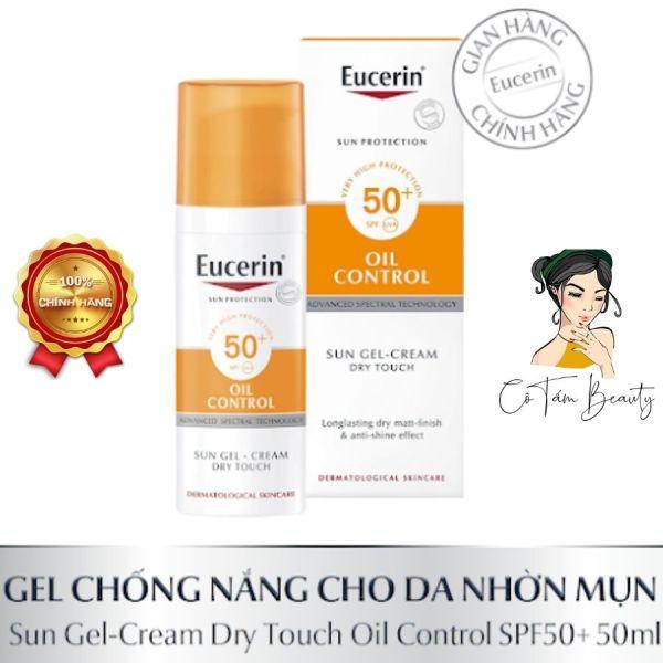Kem Chống Nắng Cho Da Nhờn & Mụn Eucerin Sun Gel-Cream Dry Touch Oil Control SPF50+ 50ml