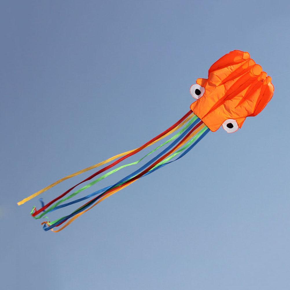 Không Thể Bỏ Qua Giá Hot với Won  4M Single Line Stunt Red Octopus Power Sport Flying Kite Outdoor Toy Hot Sale