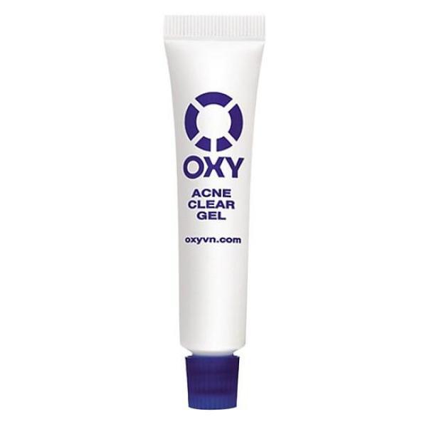 Gel trị mụn mờ vết thâm cho nam Oxy Acne Clear Gel 12g cao cấp