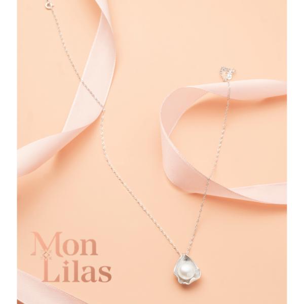 Dây chuyền bạc nữ, vòng cổ bạc nữ đẹp Necklace D0320008 - Trang Sức Mon Lilas
