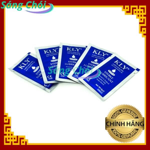 5 Gói Gel Bôi Trơn 5g - 5 Packs Personal Water-Based Lubricating Jelly / Lubricant Gel / Lube 5g giá rẻ