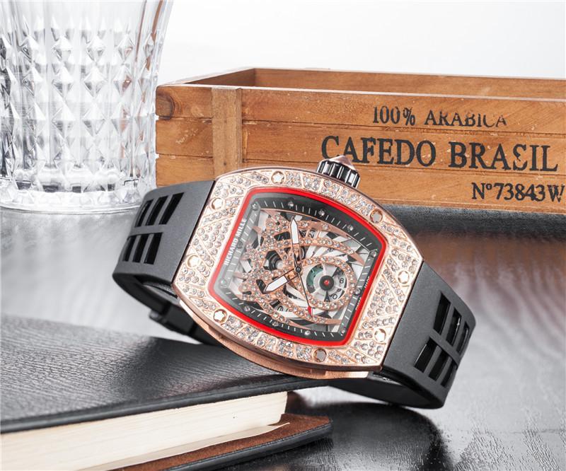 RICHARD MILLE_Rolex Men Watches Fashion Quartz Wristwatch For Man Chronograph Stopwatch Date Waterproof Shockproof International Warranty bán chạy