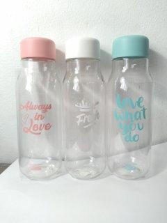 Bình nước Lock&Lock Milky dung tích 500ml nhựa PET BPA Free HAP654 thumbnail
