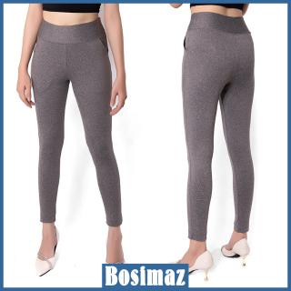 Quần Legging Nữ Bosimaz MS112 dài túi trước màu xám cao cấp, thun co giãn 4 chiều, vải đẹp dày, thoáng mát không xù lông. thumbnail