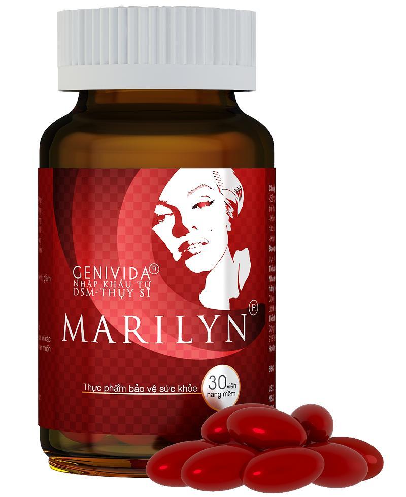 Viên uống cân bằng nội tiết tố, cải thiện sinh lý nữ Marilyn nhập khẩu