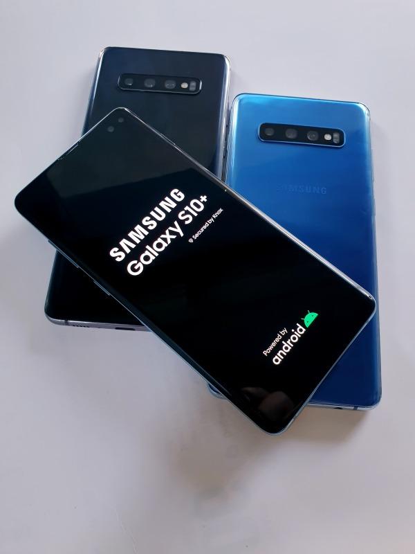 Điên thoại Samsung Galaxy S10 Plus máy Mỹ zin chính hãng - Chip Snapdragon 855, RAM 8/128GB, PIN trâu 4100mAh