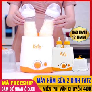 Máy Hâm Sữa Fatz 2 Bình Cổ Rộng Đa Năng, Tiệt Trùng, Hâm Thức Ăn, Giữ Nóng (FB3012SL)- Máy Tiệt Trùng Và Ủ Bình Sữa Fatz Baby Đôi (Fatzbaby Tốt Hơn Philips Avent, Moaz Bebe, Rozabi) - May Ham Sua 2 Binh thumbnail