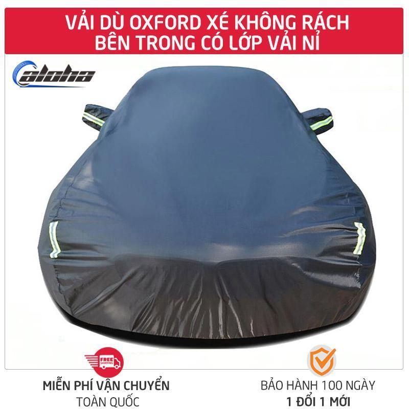 [HCM]Bạt phủ xe Tấm áo trùm che phủ xe hơi 4 chỗ đến 7 chỗ bạt vải dù lớp phản quang chống nóng mưa xước sơn Polyester Oxford Fabric-BPXS